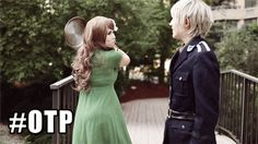 All of my love.   Prussia x Hungary.  (Gilbert x Elizabeta)