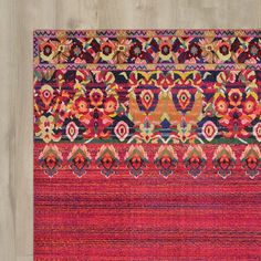 You'll love the Rialto Red Area Rug at Wayfair - Great Deals on all Rugs products with Free Shipping on most stuff, even the big stuff.