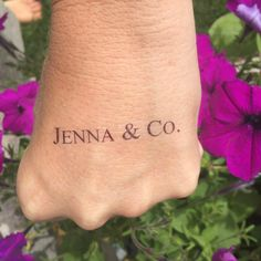 Bride & Co. Bachelorette Party Temporary Tattoo