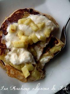 Les Aventures culinaires de Kiki: Pancakes de kamut renversés à l'ananas