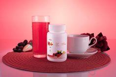 H+Chá frutas vermelhas