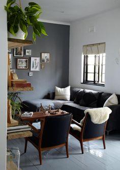 sofa gris oscuro - Buscar con Google