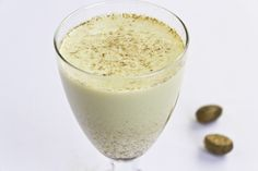 Have to have your Nog during the holidays? Try this rich & creamy recipe for a healthier option! | Holiday Nog