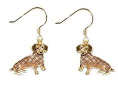dachshund earrings