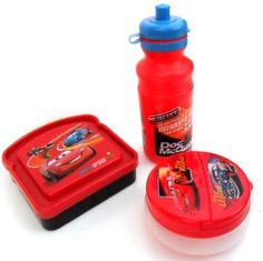 3-Piece Disney Pixar Cars Lunch Set by Disney. $15.99. These cool Pixar Cars lunch sets can be used at school, or given away as party favors at the coolest Cars themed party in town :-)   Disney bags and totes are great give-aways as Disney party favors.  We also have Rapunzel totes and Princess bags for girls, as well as other characters, such as: Little Mermaid Tote Bag, Mickey Mouse Tote Bag, Marvel Heroes Tote Bag, Pixar Cars tote bag, Tinkerbell tote bag, Tinkerbell aFiries ...