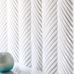 Dimensional Herringbone by Encore Ceramics. This is the Crescendo Herringbone mosaic shown in Milk gloss.  Hand Selected For You...  @encoreceramics #davincimarble Visit davincimarble.com  #design | #interiordesign | #decoinspiration | #designaddict | #homedecor | #instadesign | #innovativedesign | #decorideas | #marble | #livinginstyle | #style | #interiorstyling | #tile | #architectural | #silliconvalleystyle | #sfstyle | #tilestyle | #ihavethisthingwithtiles | #floortiles | #tileaddiction…