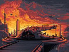 Cloud City variant by Dan Mumford | Star Wars