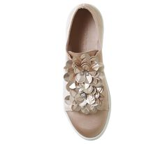 Fliss Embellished Slip On Trainers