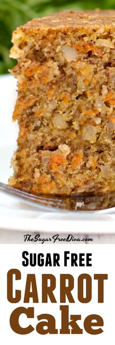 Best Yum Sugar Free Carrot Cake Sugarfree Cake Recipe, recipes images posted by Lars Christ, on August , EasyFood, tastyfood. Sweets For Diabetics, Diabetic Desserts, Diabetic Recipes, Cooking Recipes, Healthy Recipes, Pre Diabetic, Diabetic Foods, Diabetic Living, Ww Recipes