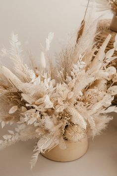 Uniquely-made dried floral arrangement in a camel and beige ceramic vase. Suitable for home decor, office decor, studio decor. Lovingly made in our studio in Slovenia.   Dried flower aesthetic - Dried flower bouquet Plant Aesthetic, Gold Aesthetic, Flower Aesthetic, Aesthetic Backgrounds, Aesthetic Iphone Wallpaper, Aesthetic Wallpapers, Rose Gold Wallpaper, Flower Wallpaper, Dried Flower Arrangements