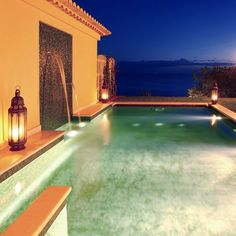 The amazing private pool of your suite. Private Pool, Amazing, Outdoor Decor, Home Decor, Bling, Homemade Home Decor, Decoration Home, Interior Decorating