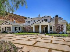 Detalhe da nova casa de Kylie Jenner, em Hidden Hills, na Califórnia
