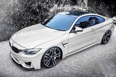 BMW M4 in White