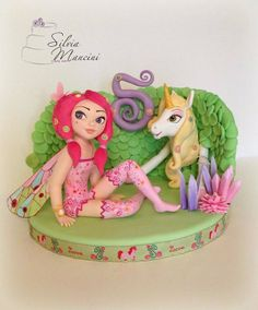 Mia and Me - by Silvia Mancini Cake Art @ CakesDecor.com - cake decorating website