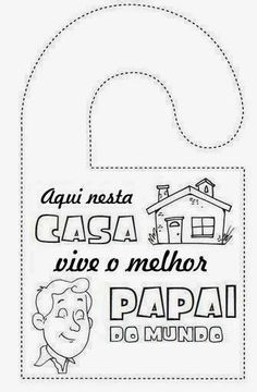 Babalar günü boyama sayfaları - Race Tutorial and Ideas Fathers Day Coloring Page, Primary Activities, Dad Day, Fathers Day Crafts, Mother's Day Diy, Mothers Day Cards, Mother And Father, Crafts To Do, Diy For Kids