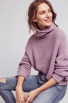 Abella Turtleneck Jumper. Moth relies on simple yarns and pure shapes to make a statement, and in turn appeals to women who want a feminine look without any fussiness.