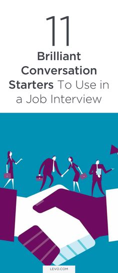 11 Brilliant Conversation Starters To Use in a Job Interview Best Picture For career ideas list of For Your Taste You are looking for something, and it is going to tell you exactly what you are lookin Job Interview Preparation, Interview Skills, Job Interview Tips, Job Interview Questions, Job Interviews, Resume Skills, Resume Tips, Resume Ideas, Job Career