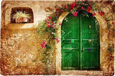 Bir gün baksam ki gelmişsin.. Gülüşünde taze serin bir rüzgar Ellerin yine eskisi kadar güzel Çiçek açmış dokunduğun bütün kapılar.. -Yavuz Bülent Bakiler-