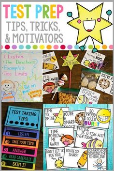 Motivate and inspire your students to do their best on state and national tests with this all inclusive packet!