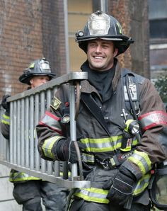 Chicago Fire: Severide on ladder duty | Shared by LION