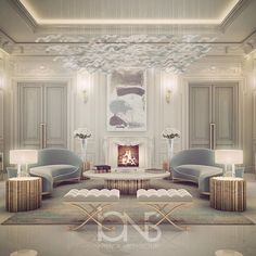 Lounge design • Private Palace • Abu Dhabi