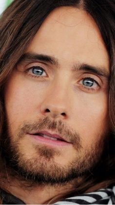 Jared Leto. I'm seriously in love with this man. He's so wonderful and talented