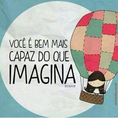 Acredite em si mesmo! ;) #acreditar #capacidade #frases #pensamentos #santohobby