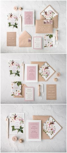 Vintage White Roses Calligraphy Wedding Invitations 08bbnz #weddings #invitations #weddingcards