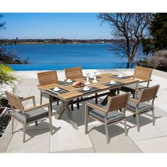 Sirio Jasmine 7-piece Outdoor Dining Set - Overstock™ Shopping - Big Discounts on Sirio Dining Sets