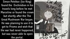Simon (A.K.A. The Ice King) before or during the war.