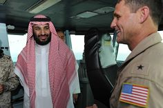 Deputy Crown Prince Mohammad bin Salman aboard the aircraft carrier USS Theodore Roosevelt, 7 July 2015 Uss Theodore Roosevelt, Aircraft Carrier, Saudi Arabia, Prince, Crown, Country, Corona, Rural Area, Country Music