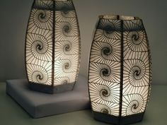 Design by Code: Laser-Cut Lamp — DIY How-to from Make: Projects --- COOLIES!!!!!