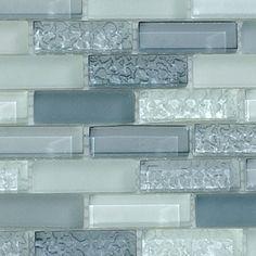 BELK Tile - Bella Glass Tiles CB52 Passion Blue Blend, $26.37 (http://www.belktile.com/cb52-passion-blue-blend/)