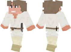 Luke Skywalker Minecraft skin
