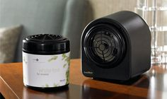 Loved the way the Westin smells every time I stayed there. They sold products in the gift shop like candles, potpourri and the sales lady told me about this system. I called and got it and I love it. Clean soft fragrance they send a new cartridge every month and I control with the fan when and how much I want it to  fan the scent. Hides behind a plant and makes the house smell so nice.