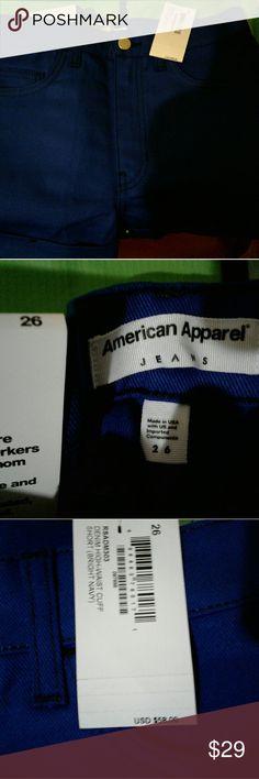 American Apparel Women's Jean Shorts Short shorts American Apparel Shorts Jean Shorts