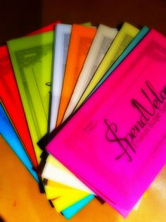 A new cash envelope system for my filofax