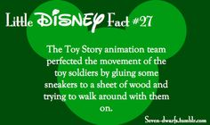 I think it means Pixar fact. It may be owned by Disney, but they make far better stuff Disney Fun Facts, Disney Jokes, Cute Disney, Disney And Dreamworks, Disney Pixar, Wtf Fun Facts, Random Facts, Funny Facts, Disney Theory