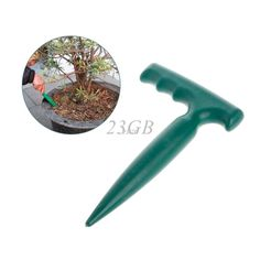Digging Hole Tool for Planting, Weeding, Seedling. Plastic //Price: $9.95 & FREE Shipping //   #gardendecor #gardendecortips #gardenlights #gardenplanting #gardenpotting