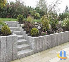 Natural stone fence