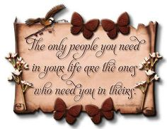 People in your life
