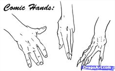 how to draw hands step 6