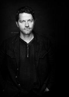 Misha at Comic Con 2015, portrait photoshoot