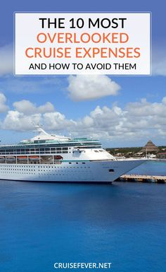 Just because you are going on a cruise doesnt mean you have to blow ALL your money.  Here are a few tips to make sure you dont break your budget on your next cruise.