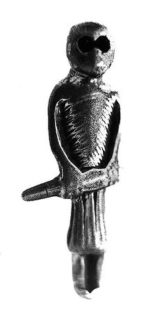 A Viking amulet of a sword bearing man dated to 960 AD