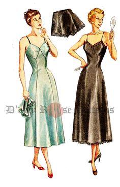Simplicity 2692 Vintage 1940s Tap Panties and by DRCRosePatterns