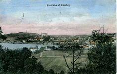 Tønsberg i Vestfold fylke panoramabilde ca. 1900 Utg P. Alstrup forlag