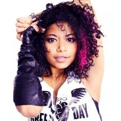 Rebecca Naomi Jones Lead American Idiot Broadway performs tonight at Ultra Suede in Gay Los Angeles, West Hollywood American Idiot Musical, Green Day American Idiot, Heathers The Musical, The Great White, Makeup Designs, West Hollywood, Beautiful People, Black Women, Singer