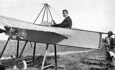 A Bleriot monoplane at New York