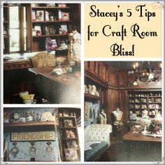 Stacey's 5 Tips for Craft room Bliss (series)